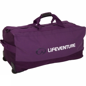 Lifeventure Lifeventure Expedition Duffel Wheeled 120L Purple