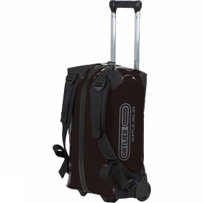 Ortlieb If you are planning a weekend trip, an active vacation or an overseas journey and you need a durable and waterproof travel bag then you should definitely consider the Ortlieb Duffle RG. It is fitted with an aluminum wheel frame that makes it especially easy to tow. Indeed, the bag