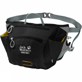 Jack Wolfskin Cross Run 2 Waist Pack Black
