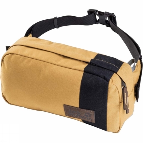 Jack Wolfskin Langley Waist Pack Golden Amber Block