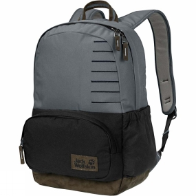 Jack Wolfskin Croxley Day Pack Pebble Grey Block