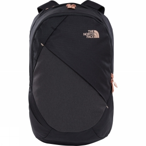 The North Face Womens Isabella Rucksack TNF Black Heather/Burnt Coral