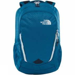 The North Face Womens Vault Rucksack Blue Coral Emboss/Vintage White