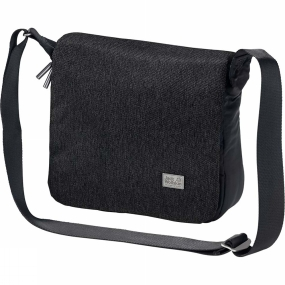 Jack Wolfskin Travel guide, drinks, camera. . . Got everything? Time to hit the road! The Wool Tech Sling Bag from Jack Wolfskin is a handy size for a stroll around town. You