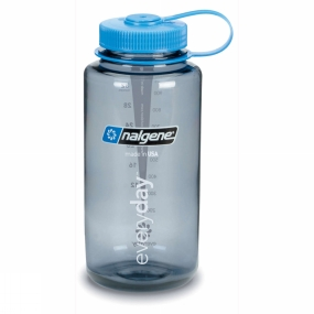 Nalgene Nalgene Wide Mouth Tritan 1.0Litre Mid Grey