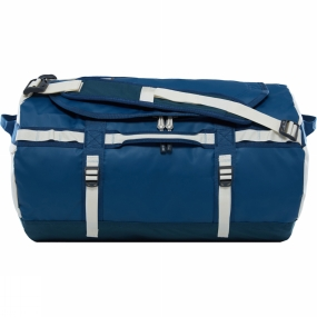 The North Face Base Camp Duffle Bag Small Blue Wing Teal/Vintage White