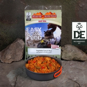 Beyond The Beaten Track Ready Meal Vegetable Curry & Rice No Colour