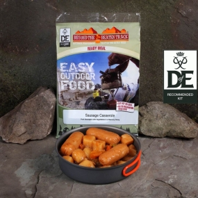 Beyond The Beaten Track Ready Meal Sausage Casserole No Colour