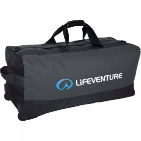 Lifeventure Lifeventure Expedition Duffel Wheeled 120L Black / Charcoal