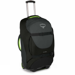 Osprey The Shuttle 100 from Osprey will swallow all the kit you need and more for whatever trip you have planned. Whether its used as the family case for two weeks of sunshine or your own case for a round the world adventure the Shuttle will keep your kit secure, organised and protected from the bumps along the way. The HighRoad Chassis will provide a strong and reliable wheeling service to take the weight of your gear across a multitude of terrains while three padded grab handles offer a quick and comfy solution when you