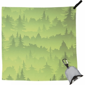 PackTowl PackTowl Nano Towel Green Trees