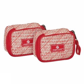 Eagle Creek Eagle Creek Pack-It Original Quilted Mini Cube Set Repeak Red
