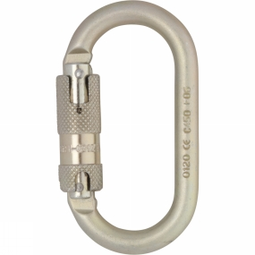 DMM 10mm Oval Steel Quicklock Karabiner