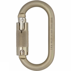 10mm Oval Steel Locksafe Karabiner 10mm Oval Steel Locksafe Karabiner by DMM