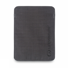 Lifeventure RFiD Passport Wallet Grey