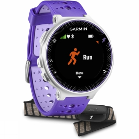 garmin forerunner 230 gps  bundle purple/white