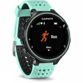 garmin forerunner 235 gps sport watch black/ frost blue