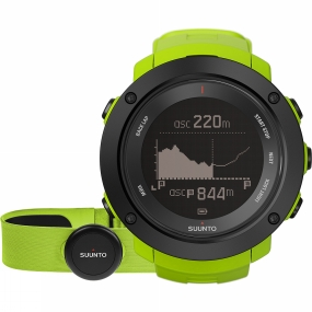 suunto ambit3 vertical hr gps watch lime