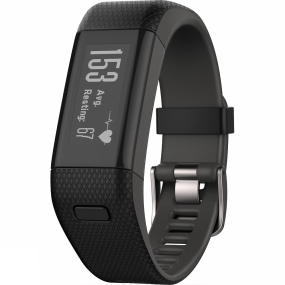garmin vívosmart hr+ gps black extra large