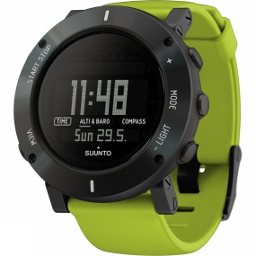 suunto core crush watch lime
