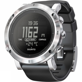 Suunto Core Brushed Steel Watch with Barometer