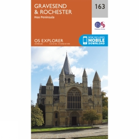 Explorer Map 163 Gravesend and Rochester Explorer Map 163 Gravesend and Rochester by Ordnance Survey