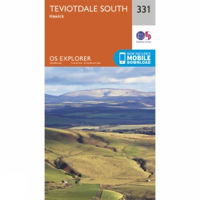 Explorer Map 331 Teviotdale South Explorer Map 331 Teviotdale South by Ordnance Survey