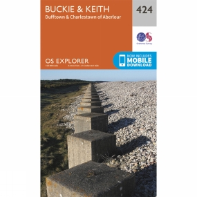 Explorer Map 424 Buckie and Keith Explorer Map 424 Buckie and Keith by Ordnance Survey
