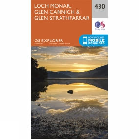 Explorer Map 430 Loch Monar, Glen Cannich and Glen Strathfarrar Explorer Map 430 Loch Monar, Glen Cannich and Glen Strathfarrar by Ordnance Survey