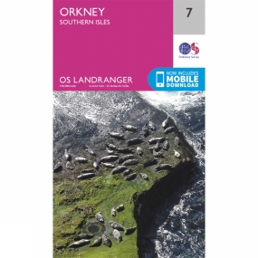 Landranger Map 07 Orkney - Southern Isles Landranger Map 07 Orkney - Southern Isles by Ordnance Survey
