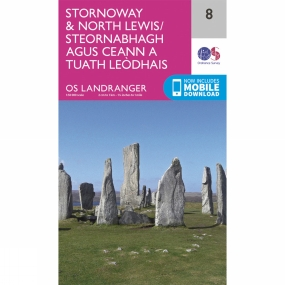 Landranger Map 08 Stornoway and North Lewis Landranger Map 08 Stornoway and North Lewis by Ordnance Survey