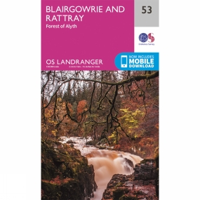 Ordnance Survey Landranger Map 53 Blairgowrie and Rattray