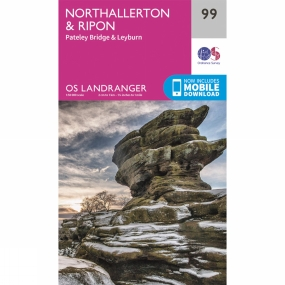 Landranger Map 99 Northallerton and Ripon Landranger Map 99 Northallerton and Ripon by Ordnance Survey