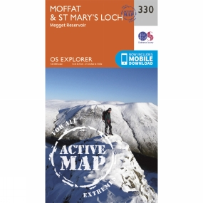Active Explorer Map 330 Moffat and St Marys Loch