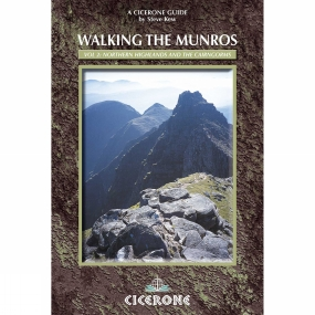 Cicerone Walking the Munros Volume 2: Northern Highlands and the Cairngorms No Colour