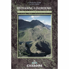 Cicerone Hillwalking in Snowdonia: Glyders, Carneddau and Outlying areas No Colour