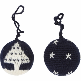 Ayacucho Christmas Baubles 2 Pack