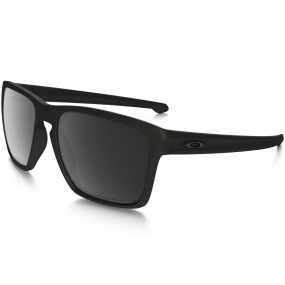 Oakley Sliver XL Sunglasses Matt Black/Prizm Black Polarized