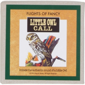 Flights of Fancy Little Owl Call No Colour