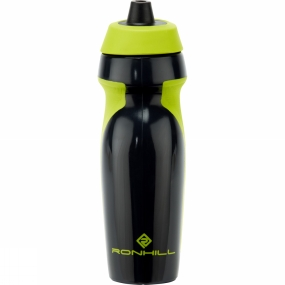 Ronhill Hydro Bottle Charcoal/Fluo Yellow