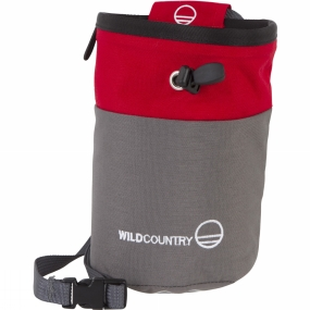 Wild Country Wild Country Petit Bloc Chalk Bag Red