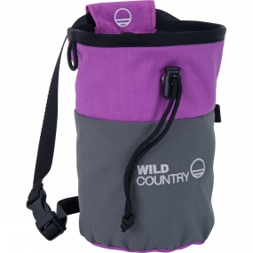 Wild Country Wild Country Petit Bloc Chalk Bag Purple