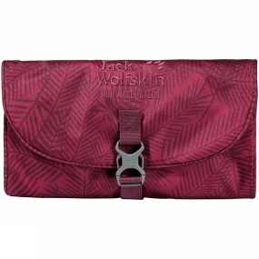 Jack Wolfskin Mini Waschsalon Wash Bag Leaf Red