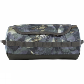 The North Face Base Camp Travel Canister (Large) English Green Tropical Camo/New Taupe Green