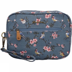 Brakeburn Womens Blossom Large Wash Bag Blue