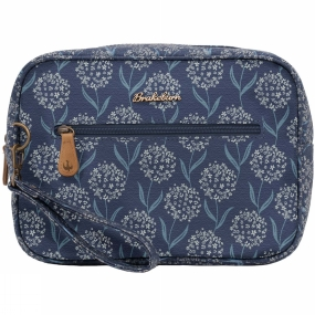 Brakeburn Womens Spring Flower Large Wash Bag Navy