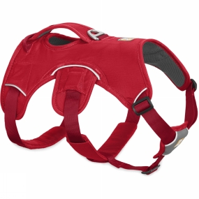 Ruff Wear Webmaster Harness Red Currant
