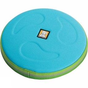 Ruff Wear Hover Craft Dog Toy Blue Atoll