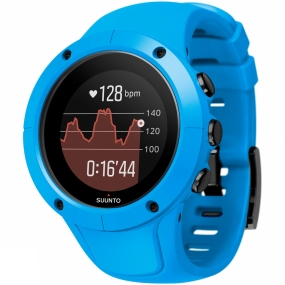 suunto spartan trainer wrist hr watch blue