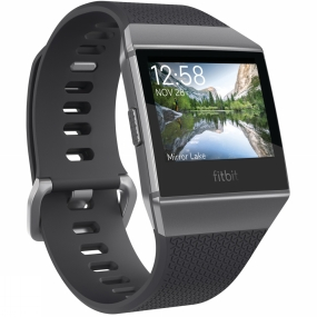 Fitbit Fitbit Fitbit Ionic Watch Charcoal/Smoke Grey